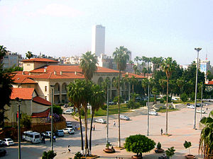 Halkevleri - Mersin Halkevi building, now used as a cultural center and opera house