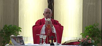 Jacques Hamel - Pope Francis celebrates a special Mass for Hamel on 14 September 2016