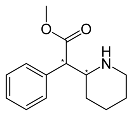 Methylphenidate-2D-skeletal.png