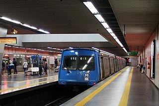 Estácio Station metro station in Rio de Janeiro, Brazil