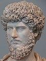Metropolitan bust Lucius Verus Roman 2C AD 2 (cropped).JPG