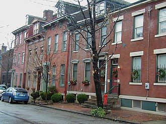 Central Northside (Pittsburgh) - Image: Mexicanst.rows