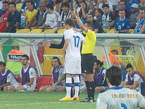 Alessio Cerci - Cerci with Italy at the 2013 FIFA Confederations Cup
