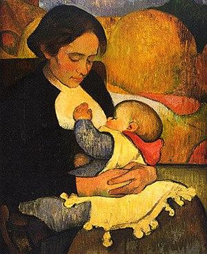 Meijer de Haan - Image: Meyer de Haan, Marie Henry allaitant son enfant