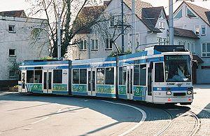 Eppelheim - Streetcar in Eppelheim