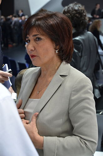 Michèle Mouton - Mouton at the Geneva Motor Show in 2011