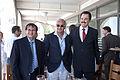 Michael D Evans with Andre' Djaoui and Benjamin Philip (5870745649).jpg