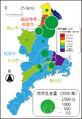 Mie tea map based on 2006.png