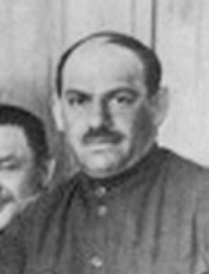 Central Committee elected by the 7th Congress of the Russian Communist Party (Bolsheviks) - Image: Mikhail Lashevich attending the 8th Party Congress in 1919