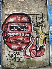 Milano - Graffiti lungo il naviglio pavese - Foto Giovanni Dall'Orto, 8-June-2008 9.jpg