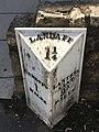 Milepost outside 273 Cowbridge Road East, Cardiff.jpg