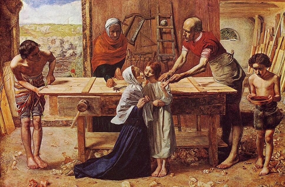 Millais - Christus im Hause seiner Eltern