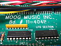 Minimoog Voyager Performer All White circuit board - Moog Music Inc. Bd. 11-404P (by Audiotecna).jpg