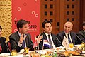 Minister-president Rutte en de Turkse minister van Economie Babacan.jpg