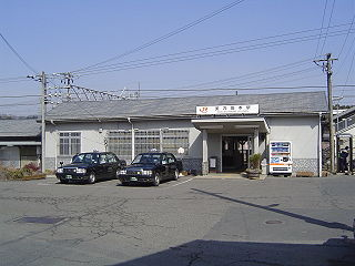Mino-Sakamoto Station Railway station in Nakatsugawa, Gifu Prefecture, Japan