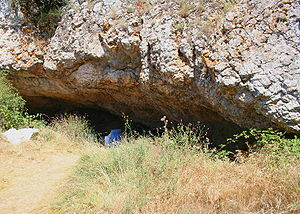 English: Mirador Cave, Atapuerca, Spain. Españ...