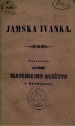 Miroslav Vilhar: Slovenščina: Jamska Ivanka