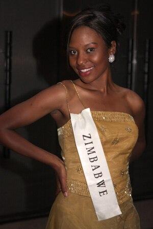 Miss Zimbabwe 08 Cynthia Muvirimi