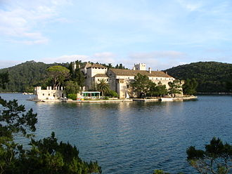 Mljet - Monastery of Saint Mary