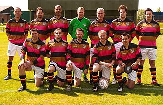 Wanderers F.C. - Wanderers team that took to the field against Royal Engineers in May 2010