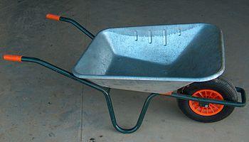 Modern wheel barrow