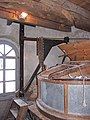 Molen Holten's Molen maalderij, maalstoel electrisch steenkraan.jpg