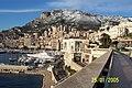 Monaco & Tête de Chien snowed (556 mts.) - panoramio.jpg