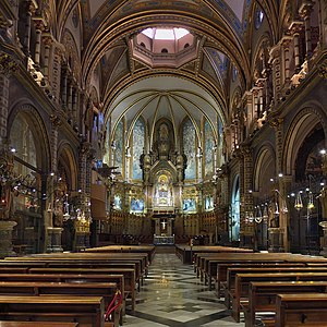 Image result for basilica españa dentro