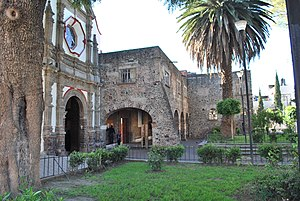 Iztacalco - View of the former San Matías monastery