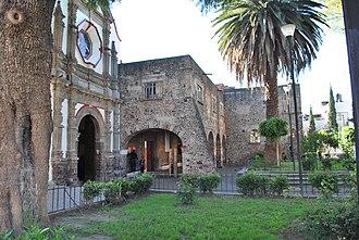 Iztacalco - View of the former San Matías monastery