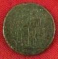 Monetiere di fi, moneta romana repubblicana con eracle nel giardino delle esperidi.JPG