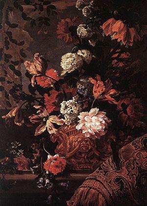 Jean-Baptiste Monnoyer - Bouquet de Fleurs (Musée des Beaux-Arts, Marseille)