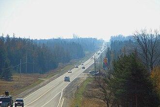 Mono, Ontario - Ontario Highway 10 through Mono