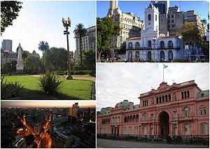 Monserrat, Buenos Aires - Image: Monserrat montage