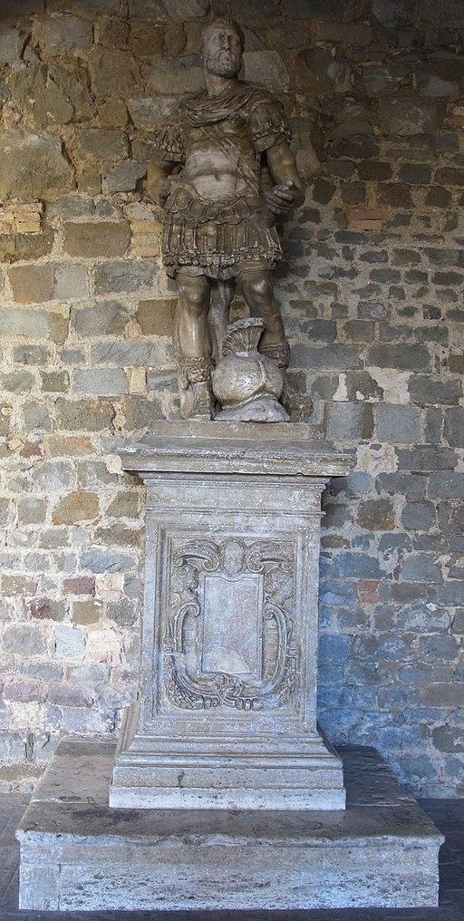Palazzo dei Priori statua di Cosimo I di Giovanni Berti, 1564