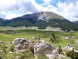Apennine Mountains mountain range stretching 1000 km from the north to the south of Italy along its east coast, traversing the entire peninsula, and forming the backbone of the country