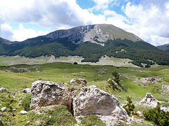 Apennine Mountains - Mt. Pollino inside the Pollino National Park, Calabria