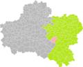 Montereau (Loiret) dans son Arrondissement.png