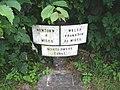 Montgomery Canal-side milepost, Brynderwen - geograph.org.uk - 875359.jpg