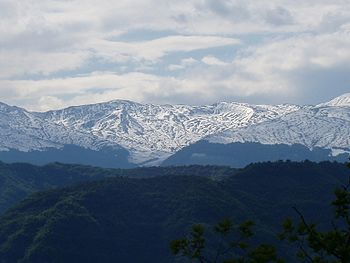 I Monti della Laga visti dal versante teramano