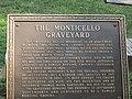 Monticello Graveyard historical marker IMG 4203.JPG