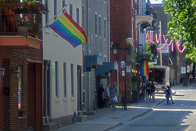 montreal gay village map