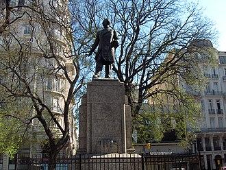 Landmarks in Buenos Aires - Monumento a Estrada