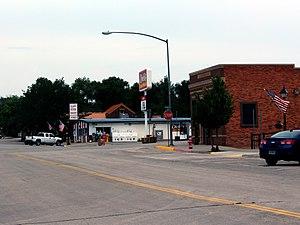 Moorcroft, Wyoming - Bighorn Avenue in Moorcroft
