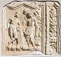 Moosburg Pfarrkirche roemisches Grabbaurelief Perseus und Andromeda 15092015 7416.jpg