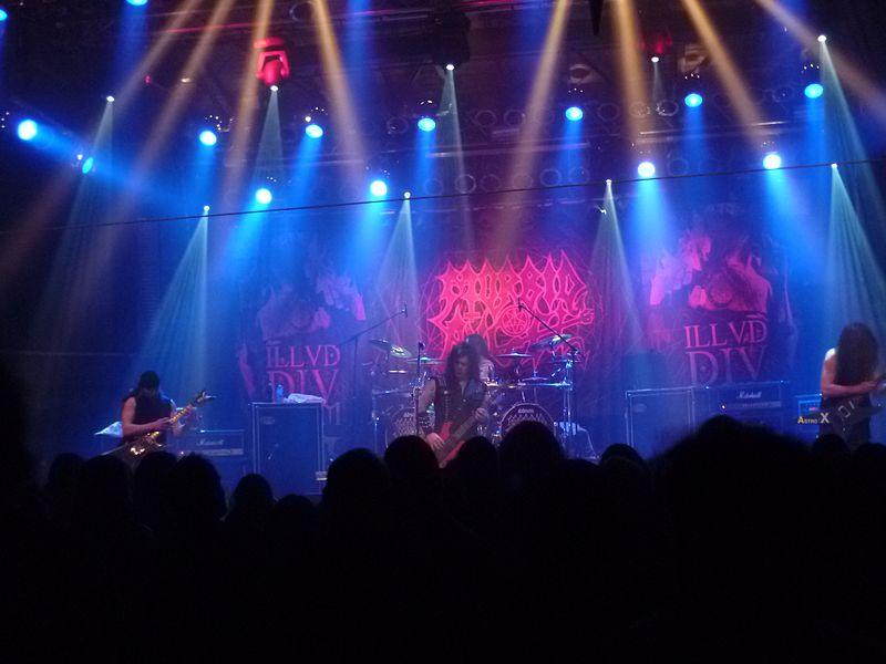 Morbid Angel Saarbrücken 2011