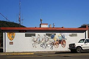 Morton, Washington - Fire station in Morton