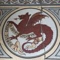 Mosaig o'r Ddraig Goch, Merthyr Tudful.jpg