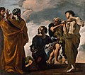 Moses and the Messengers from Canaan by Giovanni Lanfranco, Getty Center.jpg