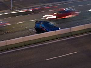 motor vehicle accident Euskara: auto istripu t...